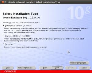 Pilih tipe instalasi