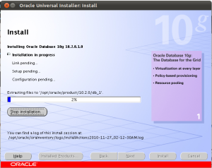 Proses install